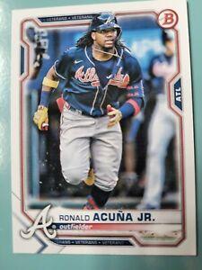 Topps Bowman Baseball 2021 - Atlanta Braves - Ronald Acuna Jr. #82