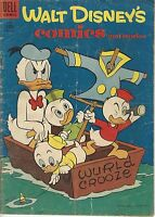 Walt Disney's Comics and Stories #177 Donald Duck Silver Age Dell