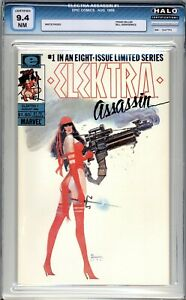 Elektra Assassin #1 - HALO Graded (9.4 NM) 1986 - Frank Miller- Discounted!