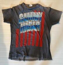 SAMMY HAGAR 1984 ROCK IS IN MY BLOOD VAN HALEN TOUR T-SHIRT ORIGINAL SUPER Rare!