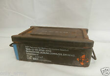 German Army C32 Ammo Box Tool Box Heavy Duty Storage Box Army Military Surplus