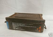 German Army C32 Ammo Box Tool Box Heavy Duty Storage Box Army Military Surplus