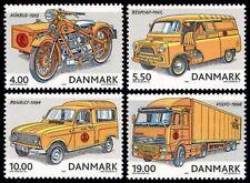 DENMARK Sc. 1230-3 Postal Vehicles 2002 MNH