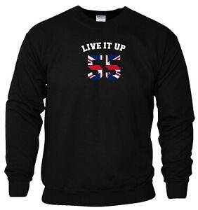 Live It Up 55 Sweatshirt Rangers Football Celebrations Xmas Gift Men Jumper Top