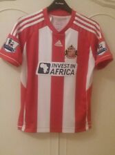 Sunderland Adidas invest in Africa Barclays premier league size 152cms