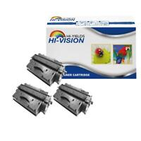 3 PK New CF280X 80X High Yield Toner Cartridge for HP LaserJet 400 M401dne M401n