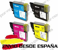 4 CARTUCHOS COMPATIBLES NonOem BROTHER LC985 MFC-J265W MFCJ265W