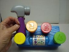 Playskool Tap 'n Spin Toolbench Learning Toy Toddler Baby Boy Girl 12 Mnths+ Up