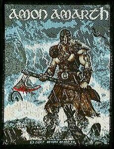 Amon Amarth - Jomsviking Patch - metal band merch