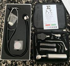 Ra Bock Diagnostics Otoscope Ophthalmoscope Kit Amp Stethoscope New