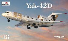 Amodel 1/72 yak-42d 'Consulate Jet' # 72342