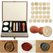 Wax Seal Copper Stamp Sealing Tool Kit Classic Vintage Letter Capital Alphabet