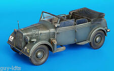 Conversion HORCH Kfz.15 en Kabrio Kfz.21 - Kit résine PLUS MODEL 1/35 - Réf. 186