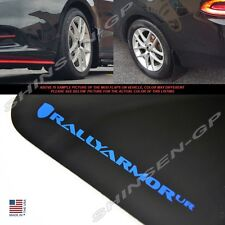 """Rally Armor UR """"Black Mud Flaps with Blue Logo"""" for 2013-2016 Dodge Dart"""