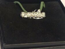 """Music TG287 English Pewter On 18"""" Green Cord Necklace"""