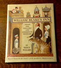 1981 1st/1st VISIT TO WILLIAM BLAKE'S INN Alice & Martin Provensen F/F Caldecott