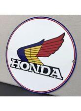 Honda Motorcycle Vintage Logo Reproduction Garage Sign