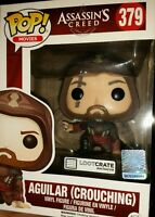 Loot Crate Exclusive Assassin's Creed Aguilar Crouching  Funko Pop! Vinyl #379