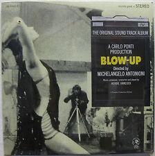 BLOW-UP Soundtrack 1966 US ORG SEALED LP Herbie Hancock YARDBIRDS Stereo