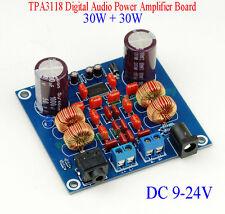 DC 9-24V TPA3118 30W+30W Class D HIFI Digital Audio Power Amplifier Board Fr Car