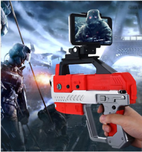 Homkey AR - 82 Bluetooth 4.2 Game Gun Pistol with Cell Phone Stand Android / iOS