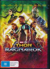 Thor Ragnarok DVD NEW Region 4 Chris Hemsworth Mark Ruffalo