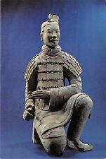 Bg20784 an archer figure sculpture postcard china