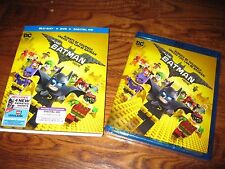 The LEGO Batman Movie:  (Blu-ray/DVD+ Digital HD, 2017) New; Sealed + Fast Ship