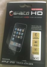 Zagg Invisible Shield Hd Screen Protector for Apple iPod Touch 4th Gen