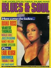 Diana Ross Vaneese Thomas Ronnie Spector Earl Klugh Natalie Cole Klugh Magazine