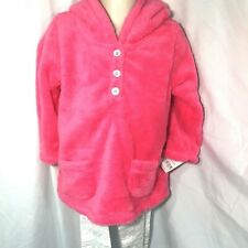 Carters Girls Winter Outfit Size 12 Months Pink Faux Fur...