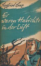 Lenz: Es waren Habichte in der Luft (1951). Signierte Erstausgabe.