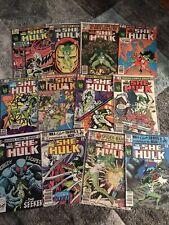 SAVAGE SHE-HULK 5 6 8 10 16 18 19 20 21 22 23 24 Comic Lot Disney + Marvel 1980