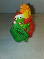 Vintage 1981 The Muppet Show Ornament: Kermit as Santa Jim Henson Sigma