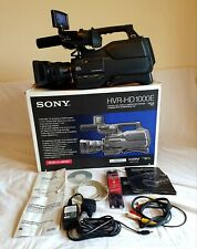 Sony broadcast camcorder camera HVR-HD1000E CMOS HDV professional immaculate con