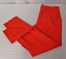J CREW MARTIE PANT IN BI STRETCH COTTON SLIM CROPPED BRIGHT RED SIZE 2 NWT B8521