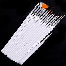 Set of 15 Pcs Nail Art Brush. Nice gift to girls and women