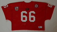 Nebraska Huskers #66 Practice or Game Used Jersey Sewn Orange Bowl & Ncaa Patch