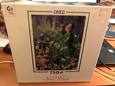 """RARE Nene Thomas """"JADE"""" 750 Piece Puzzle by Ceaco Sealed In BOX NEW"""