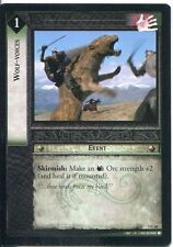 Lord Of The Rings CCG Card BohD 5.C68 Wolf Voices