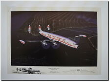 """Home for the Holidays - Remarqued A/P by Mike Machat - Lockheed 1049G """"Connie"""""""