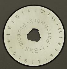 5x Ersatzklingen 45mm für Rollschneider Rollmesser Rotary Patchwork Quilt 450
