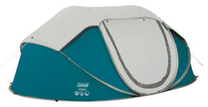 Coleman blue galiano 4 man fastpitch pop up tent