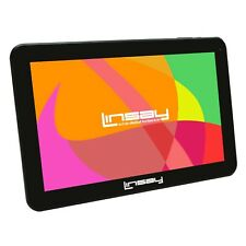 "Brand New LINSAY F-10XHD 10.1"" Quadcore 1024X600 HD 16GB 1GB Android Tablet"