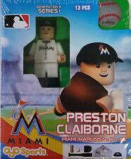 Preston Claiborne OYO Miami Marlins MLB Mini Figure NEW G4