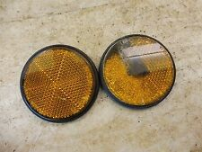 1978 Kawasaki KZ400 KZ 400 K512-4' front reflector set pair parts