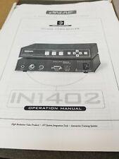 Inline IN1402 Video Scaler