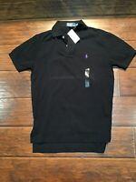 NWT Polo Ralph Lauren Black Polo Size Small