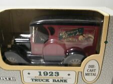 Ertl 1:25 Anheuser-Busch 1923 Chevy Truck Die Cast Metal Locking Coin Bank