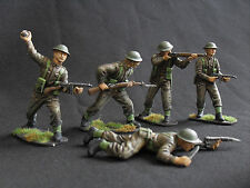 airfix conversions 1/32 professionally painted british infantry 54mm.